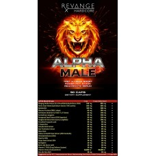 Тестостимулатори - Alpha Male, 90 капс, Revange Nutrition