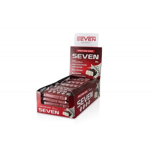 Протеинов десерт - Seven Protein Bar, 60 гр,  Sevensport