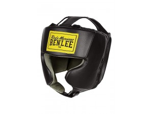 Протектор за глава каска Benlee Artificial Leadher head guard mike junior black