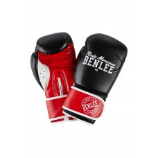 Боксови ръкавици Benlee Carlos 1502/Black/Red/White Boxing Gloves