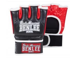 ММА Ръкавици Benlee Combat leather gloves black