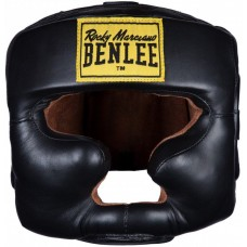 Протектор за глава каска Benlee Leather Headguard Open Face Black