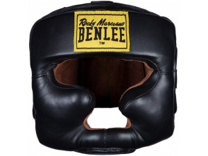 Протектор за глава каска Benlee Leadher headguard Open Face black