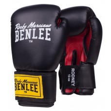Боксови ръкавици Benlee Rodney Boxing Gloves black red