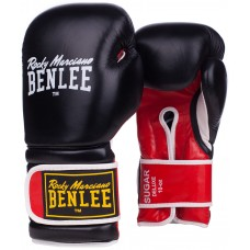 Боксови ръкавици Benlee Sugar Deluxe Leather Boxing Gloves