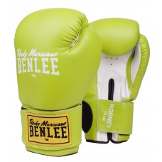 Боксови ръкавици Benlee Rodney Boxing Gloves green white