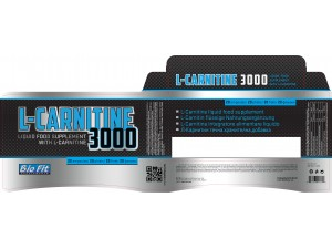 Л карнитин Bio Fit - L carnitine liguid 3000 20 флакона по 25 мл