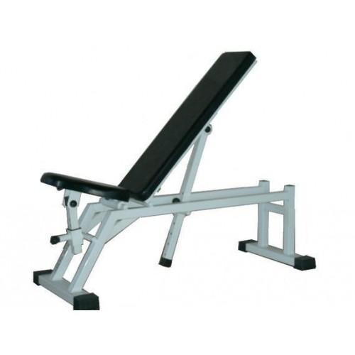 Пейка за фитнес регулируема облегалка и седалка, Bulfit - JK Fitness
