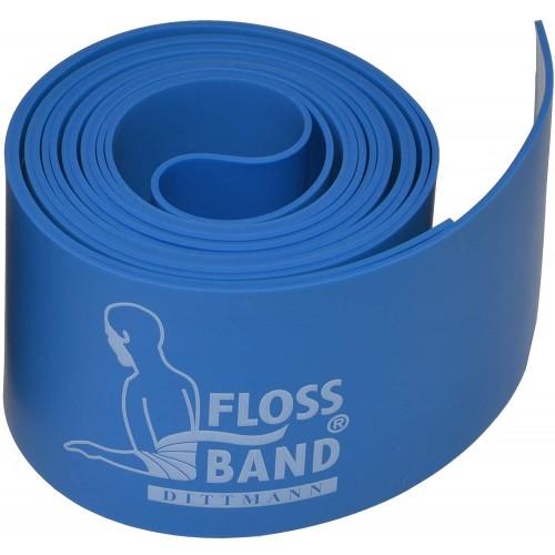 Еластична лента синя Flossband, Dittman