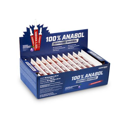 Аминокиселини - 100 % Anabol (30 x 25 ml), Energybody