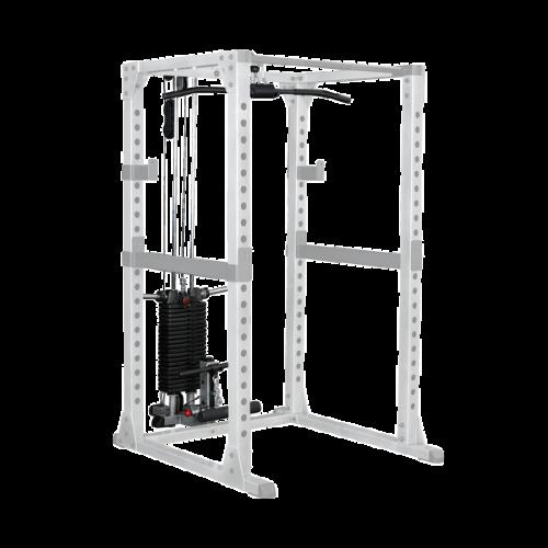 Рамка за клякане Body-Solid GPR378 + скрипци със 100 кг тежести