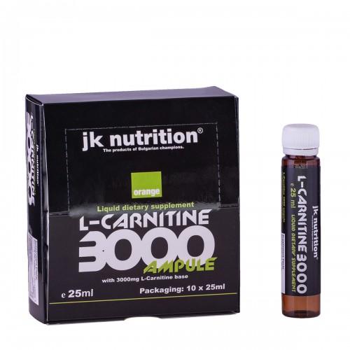 L-карнитин - флакони 10 x 25 мл, JK Nutrition