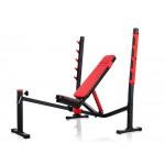 Лежанка за фитнес тренировки, мултифункционална, MS-L106, Marbo Sport
