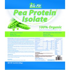 100% органичен грахов протеин - Pea Protein, 0.5 кг, Bio Fit
