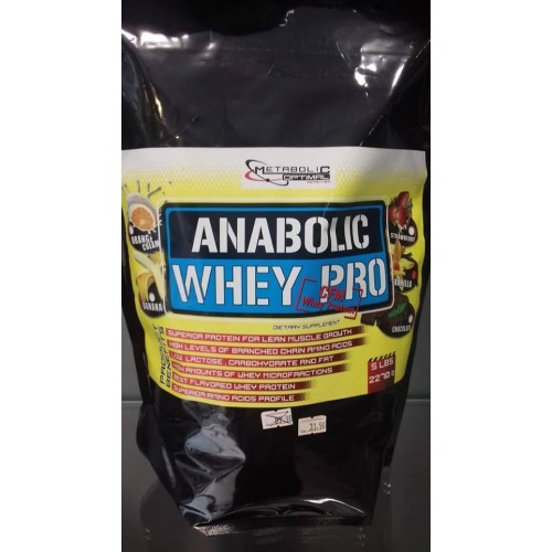 Протеин в плик 2.27 кг Anabolic Whey Pro Metabolic Optimal Nutrition