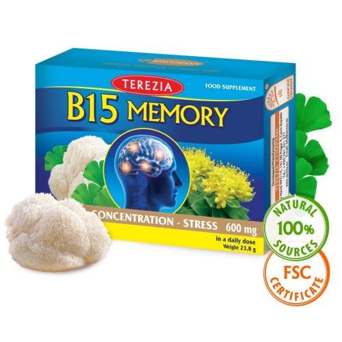 B15 Memory формула, 60 капс., Terezia