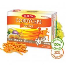 Cordyceps active, 60 капс., Terezia