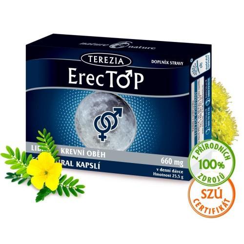 Тестостимулатор - ErecTop 60 капс., Terezia