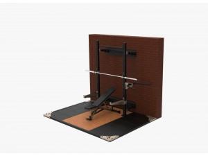 Стойка комбинирана за фитнес упражнения сгъваема, Titan