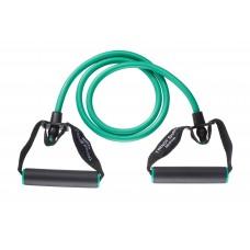 Ластик за тренировка с дръжки 140 см зелен, Trendy sport