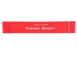 Ластици мини за тренировка, червен, Mini bands Trendy