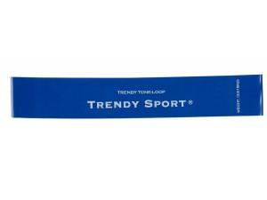 Ластици мини за тренировка, син, Mini bands Trendy