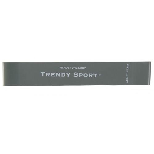 Ластици мини за тренировка, сив, Mini bands Trendy - JK Fitness