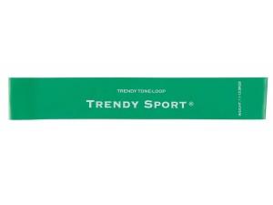 Ластици мини за тренировка, зелен, Mini bands Trendy