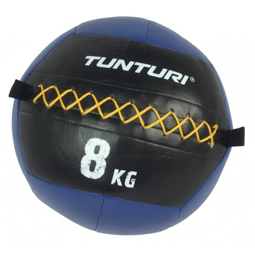 Tunturi Wall Ball - мека медицинска топка 8 кг
