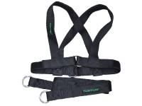 Колан за теглене на шейна и функционален фитнес Tunturi X-shape Pull Harness
