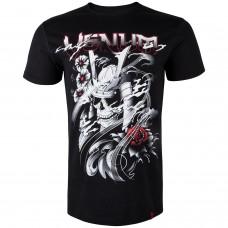 Спортна тениска Venum Samurai Skull T shirt Black