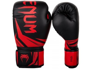Боксови ръкавици Venum Challenger 3.0 Boxing Gloves black red