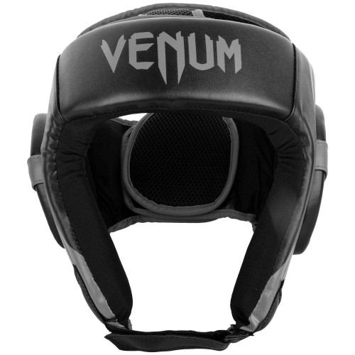 Протектор за глава (каска) Venum Challenger  Open Face Hardgear black/grey
