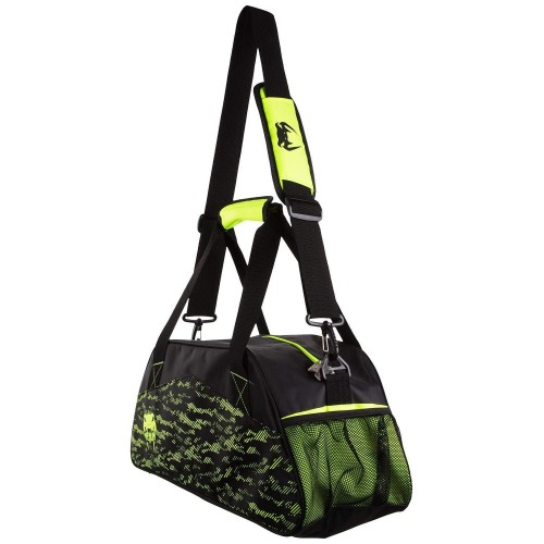 Спортна чанта Venum Comoline Sport bag black/neo yellow