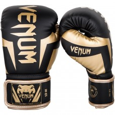 Боксови ръкавици Venum Elite Boxing Gloves black gold