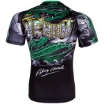 Рашгард Venum Crocodile Rashguard Black/Green