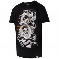 Спортна тениска Venum Dragon's Flight T shirt Black White
