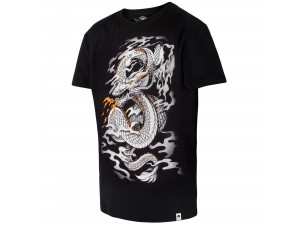 Спортна тениска Venum Dragon's Flight T shirt Black White