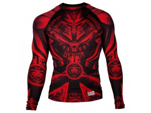 Рашгард  Venum Gladiator 3.0 Red Devil Rashguard black red