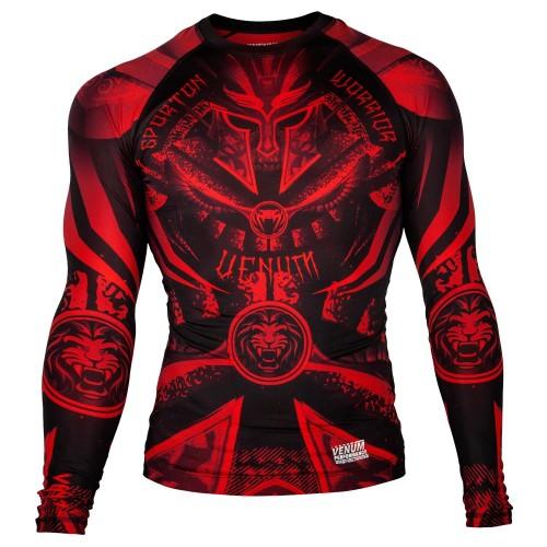 Рашгард  Venum Gladiator 3.0 Red Devil Rashguard Black/Red