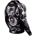 Рашгард Venum Dragon's Flight Rashguard Black/White