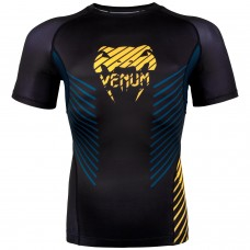 Рашгард Venum Plasma Rashguard black yellow