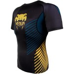 Рашгард Venum Plasma Rashguard black/yellow