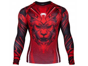 Рашгард  Venum Bloody Roar Rashguard red