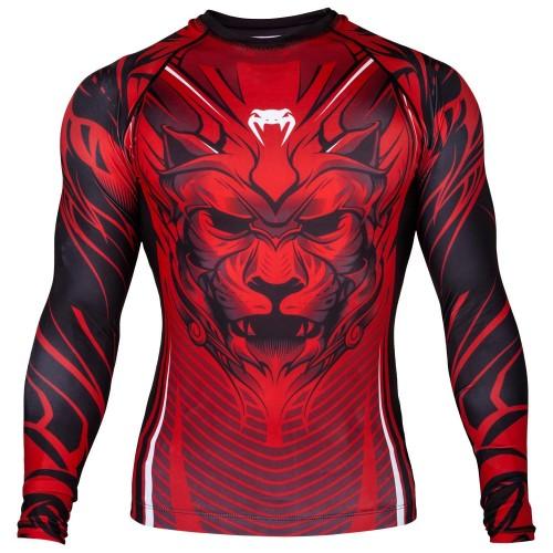 Рашгард  Venum Bloody Roar Rashguard red