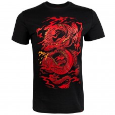 Спортна тениска Venum Dragon's Flight T shirt Black Red