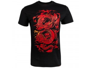 Спортна тениска Venum Dragon's Flight T shirt Black Red