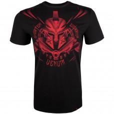 Спортна тениска Venum Gladiator 3.0 T shirt Black/Red