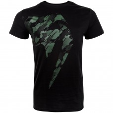 Спортна тениска Venum Tecmo Giant T-shirt khaki/black