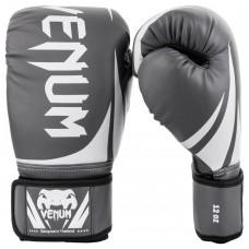 Боксови ръкавици Venum Challenger 2.0 Boxing Gloves gray white black